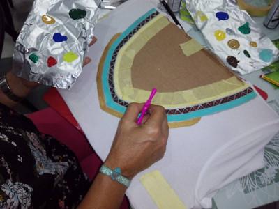 Curso, taller de decoración de telas en Canarias